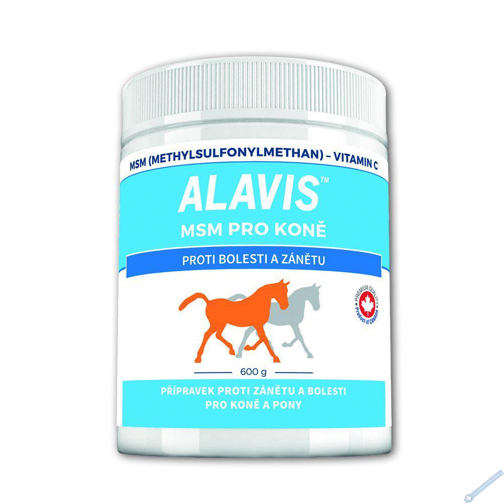 ALAVIS MSM pro koně + vitamin C