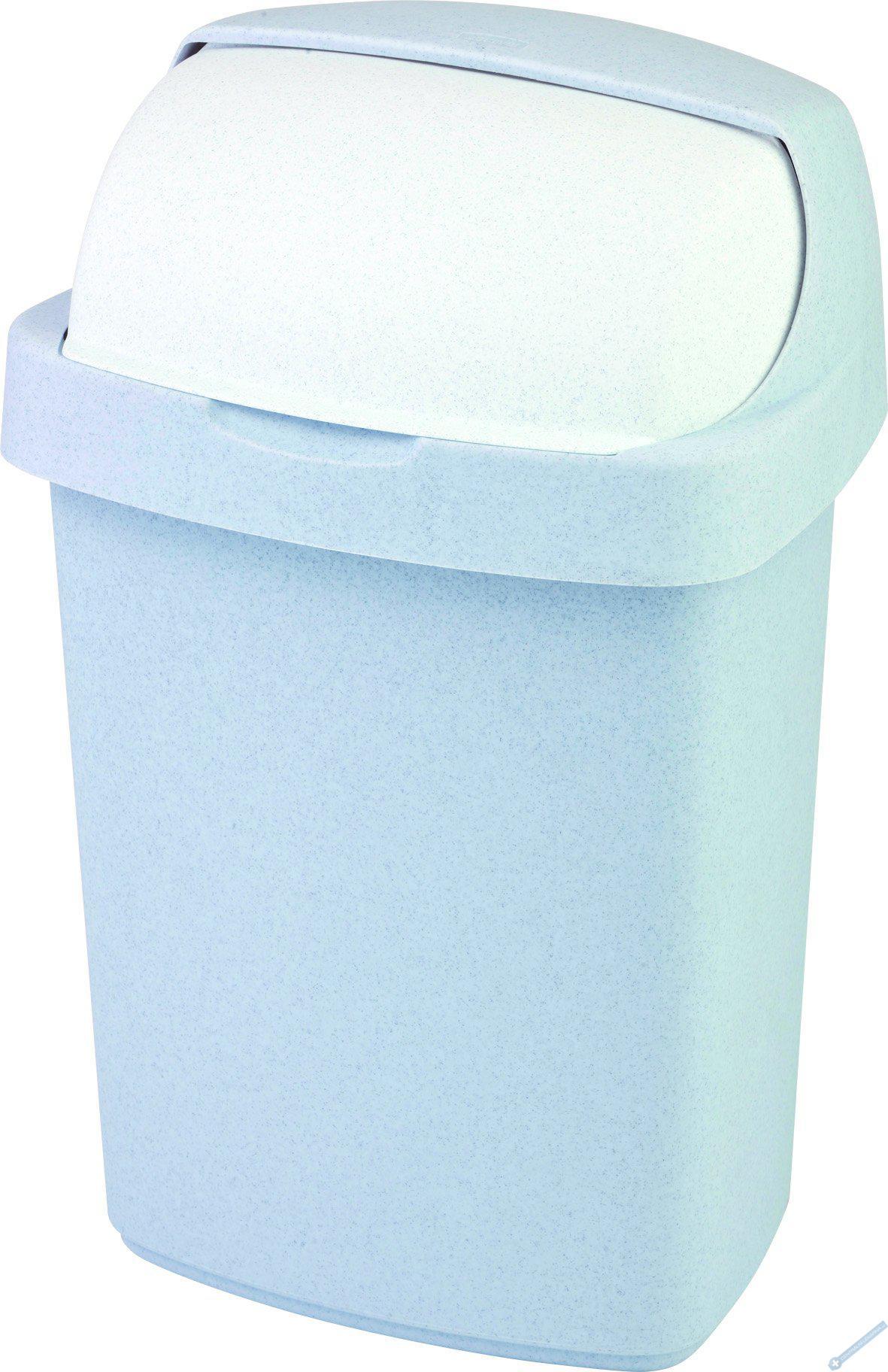 Odpadkový koš ROLL TOP 25l šedý