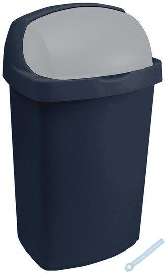 Odpadkový koš ROLL TOP 25l modrý