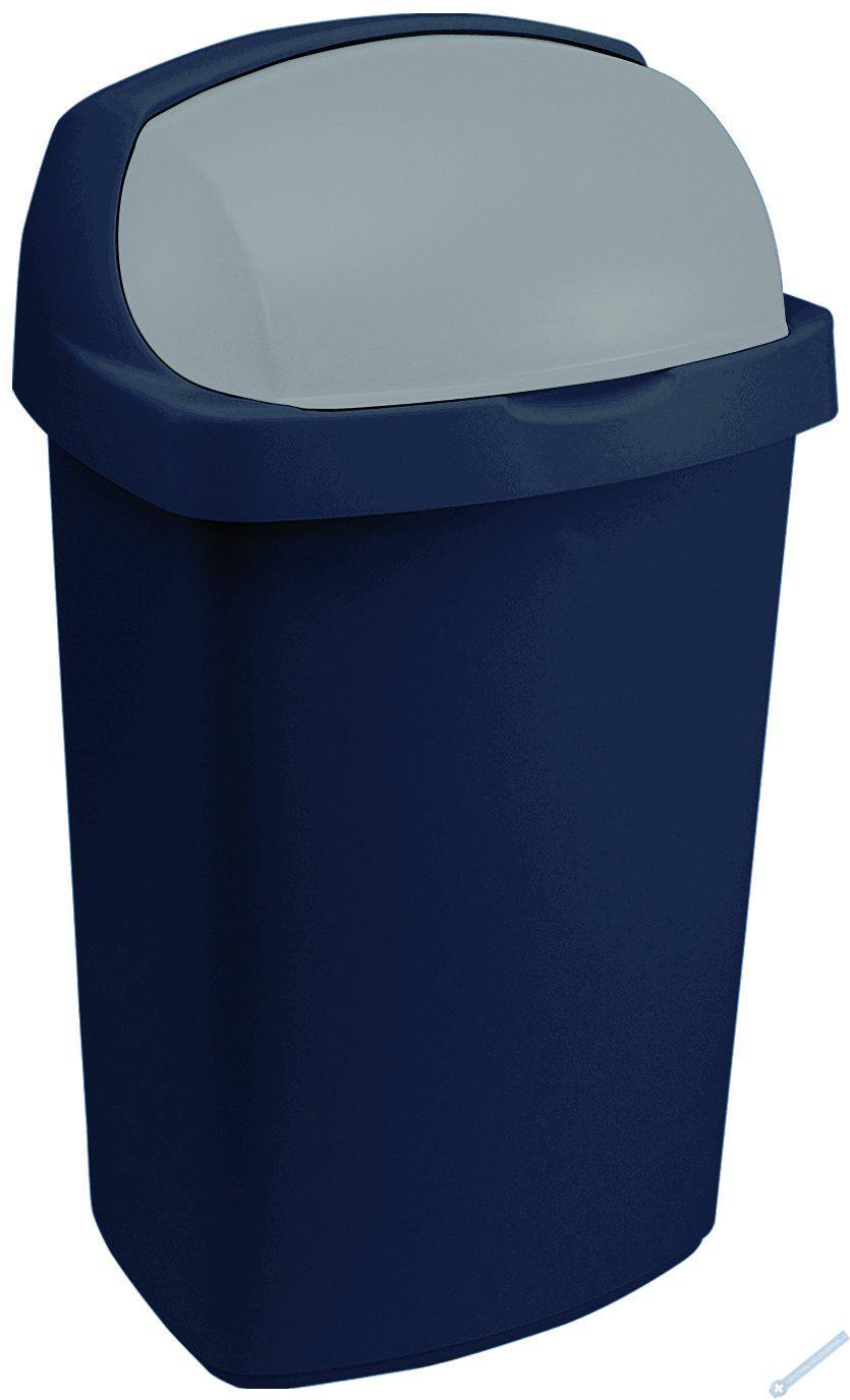 Odpadkový koš ROLL TOP 10l modrý