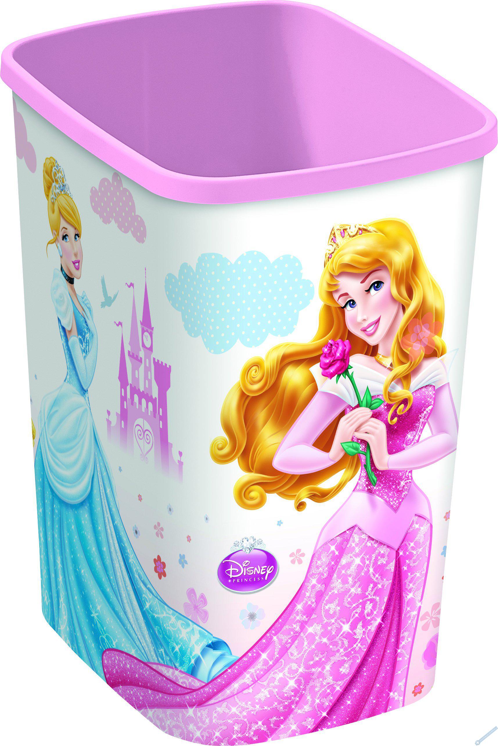 Odpadkový koš 10l princezny