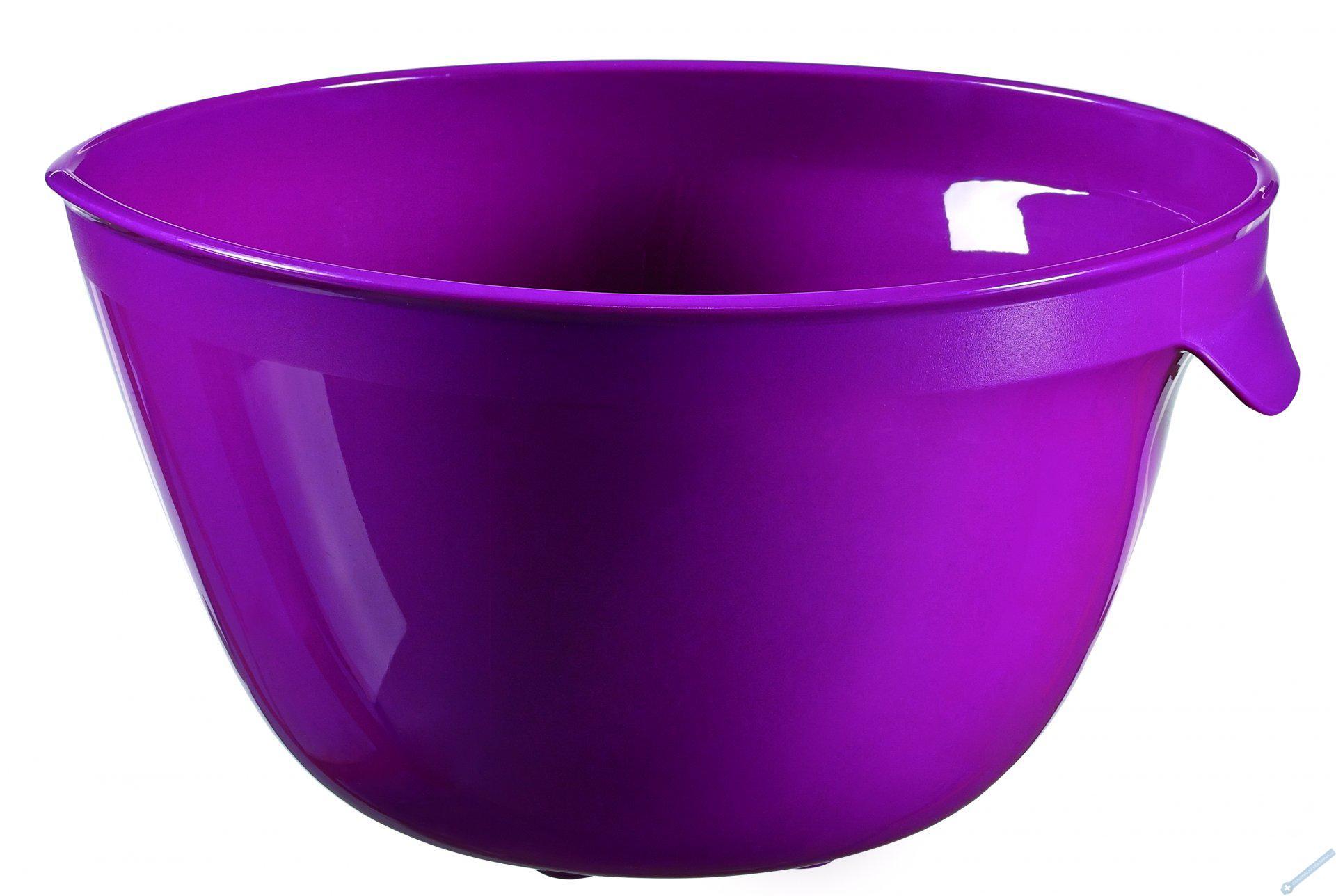 Šlehací mísa 2,5l fialová