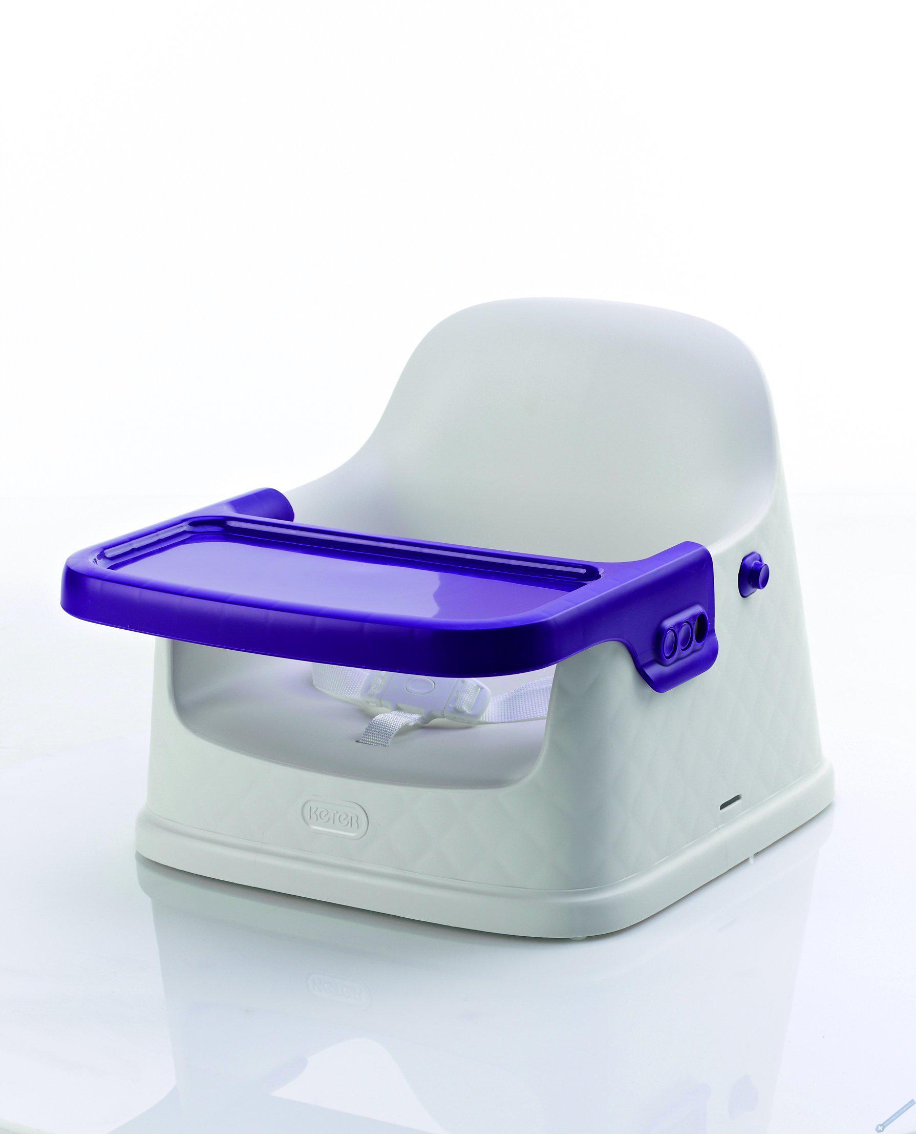 Jídelní židlička fialová