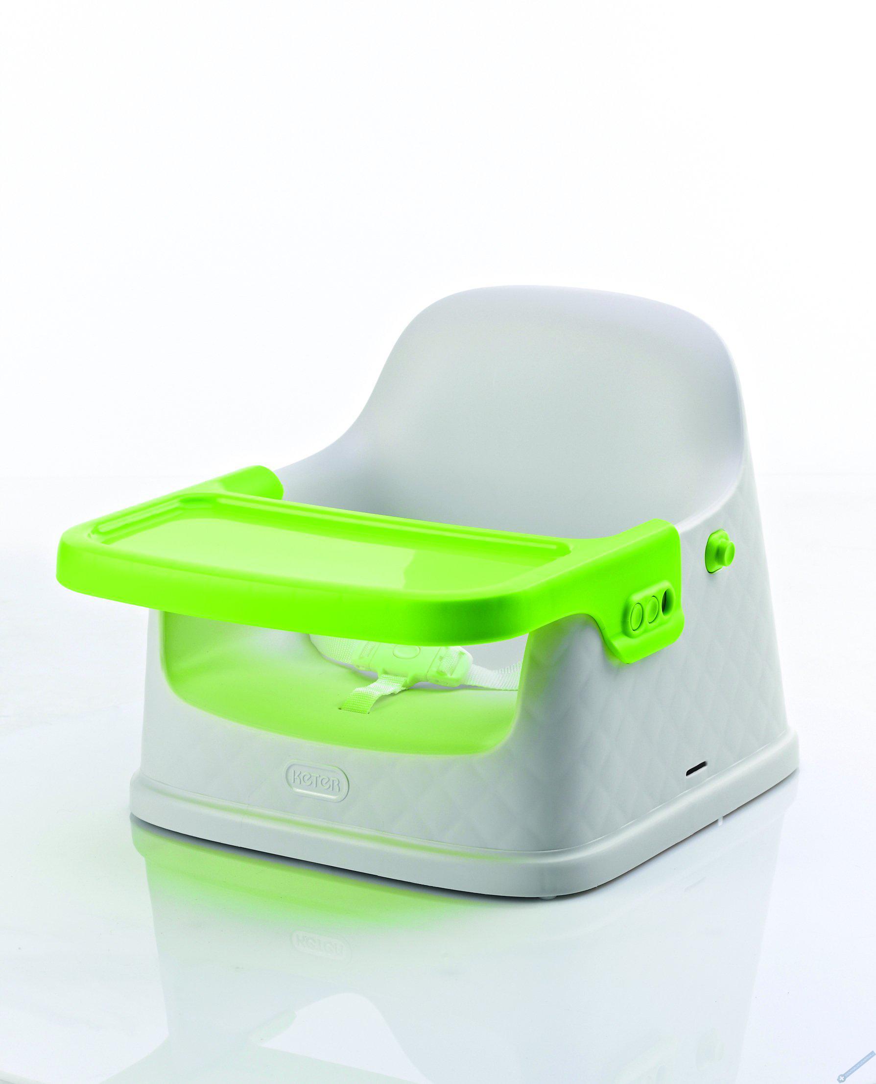 Jídelní židlička zelená