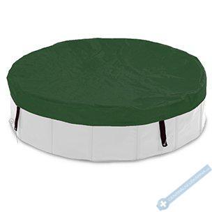 Plachta na bazén zelená 160cm