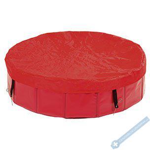 Plachta na bazén červená 80cm