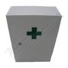 Lékárnička bílá dřevěná 43x30x14cm prázd. Steriwund