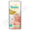 PAMPERS Premium Care 4 Maxi 52ks + PAMPERS Wipes Sensitive Single 56ks zdarma