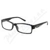 Brýle čtecí +1. 00 FLEX UV400 černé s kov. doplňkem