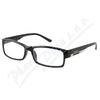 Brýle čtecí +3. 50 FLEX UV400 černé s kov. doplňkem