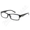 Brýle čtecí +2. 50 FLEX UV400 černé s kov. doplňkem