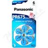 Panasonic PR675(PR44) baterie do naslouchadel 6ks