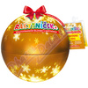 RAKYTNÍČEK+ želatinky 50ks Vánoční koule zlatá