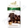 Čokoláda HEIDI Grand or whole hazelnuts dark 100g