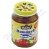 Hamánek kojenecká výživa s jahodami neslazená 180g