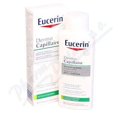 EUCERIN DermoCapil. šampon proti mast. lupům 250ml