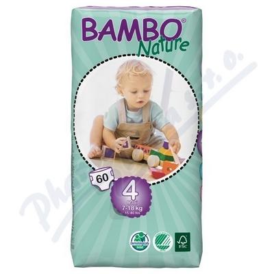 BAMBO Nature Maxi plen.k. 7-18kg 60ks