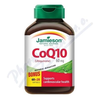 JAMIESON Koenzym Q10 60 mg cps.60+20
