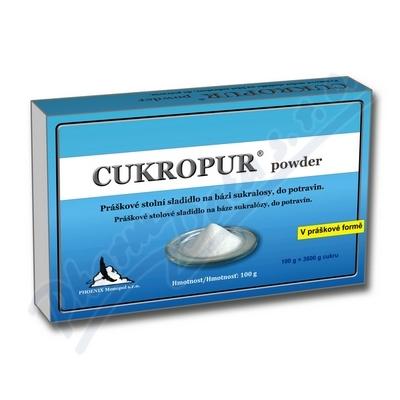 CUKROPUR powder práškové stolní sladidlo 100g