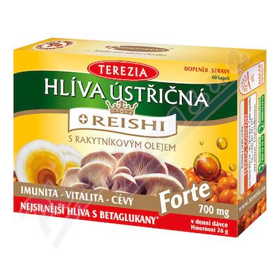 TEREZIA Hlíva ústřičná s REISHI FORTE cps.60