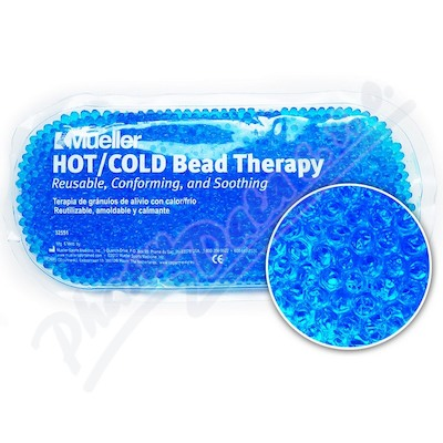 Chladivý-hřejivý polštářek gelové kuličky modrý